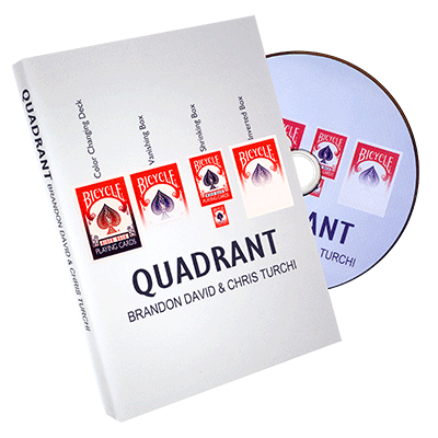 Quadrant by Chris Turchi, Brandon David, and Paper Crane Productions - DVD