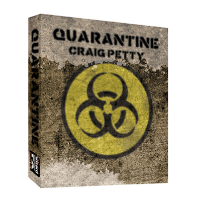 Quarantine BLUE (Gimmick and DVD) by Craig Petty - DVD