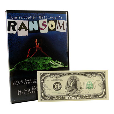 Ransom (DVD and Props) by Chris Ballinger and Magic Geek - DVD