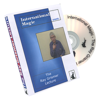 Ray Grismer Lecture by International Magic - DVD