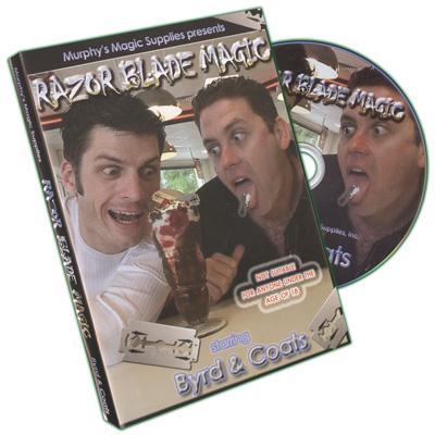 Razor Blade Magic by Byrd & Coats - DVD