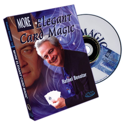 More Elegant Card Magic by Rafael Benatar - DVD
