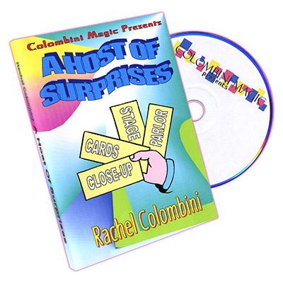 A Host of Surprises by Rachel Colombini - DVD
