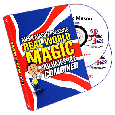 Real World Magic (2 DVD Set) by Mark Mason and JB Magic - DVD