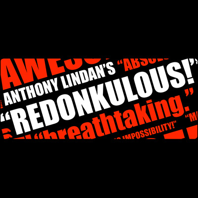 Redonkulous by Anthony Lindan - DVD