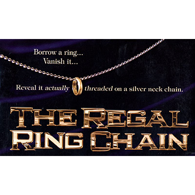 The Regal Ring Chain (DVD and Gimmick) by David Regal - DVD