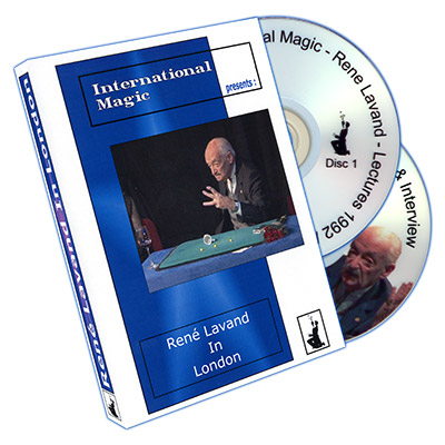Rene Lavand in London by International Magic - DVD