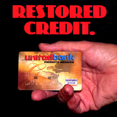 Restored Credit (DVD and Gimmick)
