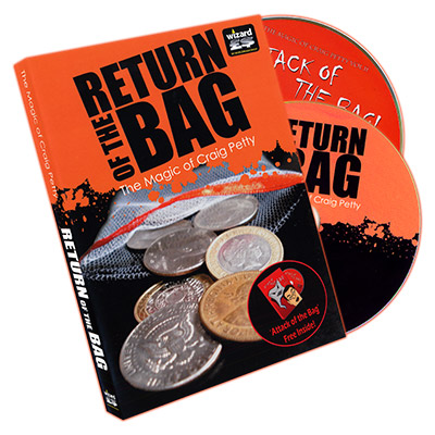 Return of The Bag (2 DVD set) by Craig Petty and World Magic Shop - DVD