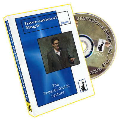 Roberto Giobbi Lecture by International Magic - DVD