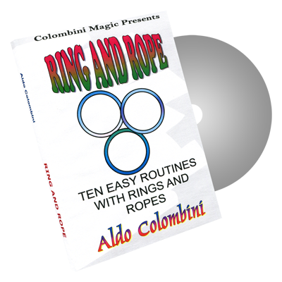 Ring & Rope by Wild-Colombini Magic - DVD