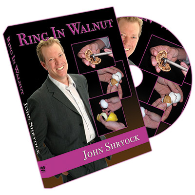 Ring In Walnut by John Shryock - DVD