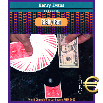 Risky Bet (EURO, Gimmick and VCD) by Henry Evans