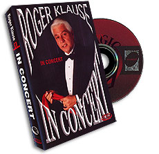 In Concert by Roger Klause - DVD