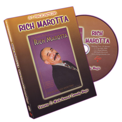 Comedy Magic of Rich Marotta - Walk-Around Comedy Magic Volume 2 - DVD