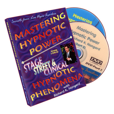 Mastering Hypnotic Power (2 DVD Set) by Richard Nongard