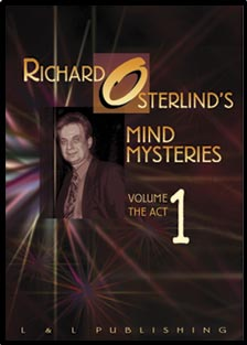 Mind Mysteries Vol 1 (The Act) by Richard Osterlind - DVD