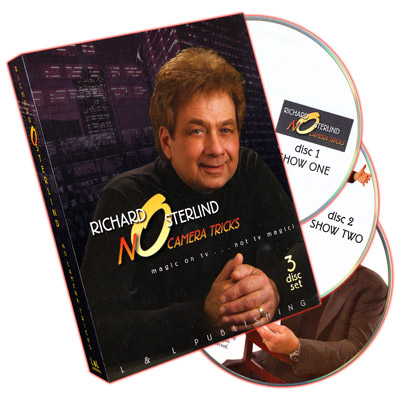 No Camera Tricks (3 DVD Set) by Richard Osterlind - DVD