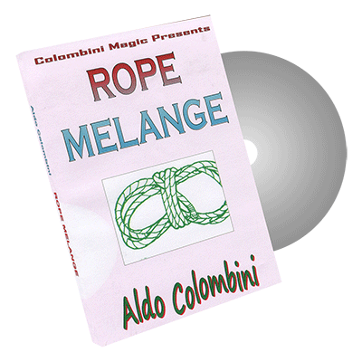 Rope Melange by Wild-Colombini Magic - DVD