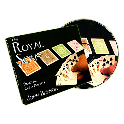 The Royal Scam (Cards and DVD) by John Bannon -  DVD