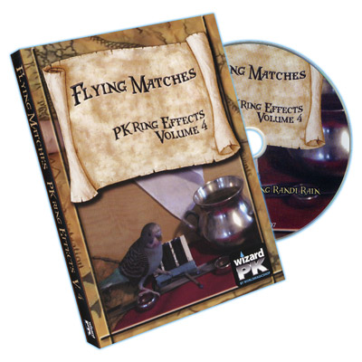 Flying Matches (PK Ring Effects Volume 4) by Randi Rain - DVD