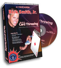 Art of Card Throwing by Rick Smith - DVD