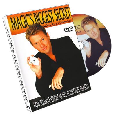 Magic's Biggest Secrets Russ Stevens - RSVP - DVD