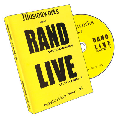 LIVE Celebration Tour '91: Volume One by Rand Woodbury - DVD