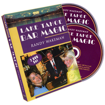 Lake Tahoe Bar Magic (2 DVD set) by Randy Wakeman - DVD