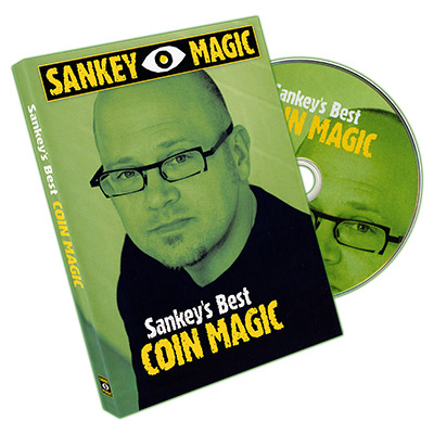 Sankey's Best Coin Magic - DVD