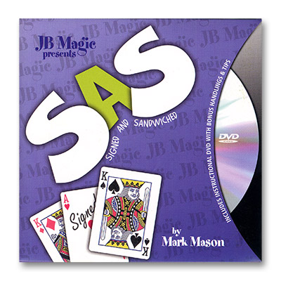 SAS (Signed And SandWiched) by Mark Mason and JB Magic - DVD