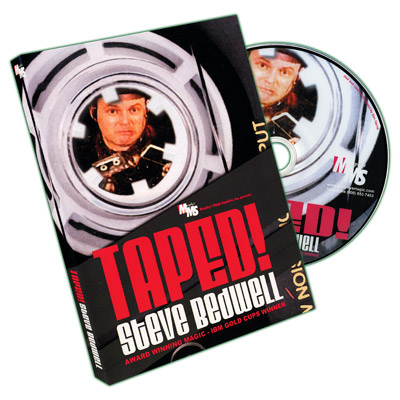 Taped! by Steve Bedwell - DVD