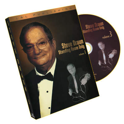 Standing Room Only : Volume 3 by Steve Draun - DVD