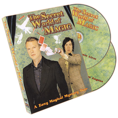 The Secret World of Magic (2 DVD Set) - Pete Firman & Alistair Cook - DVD