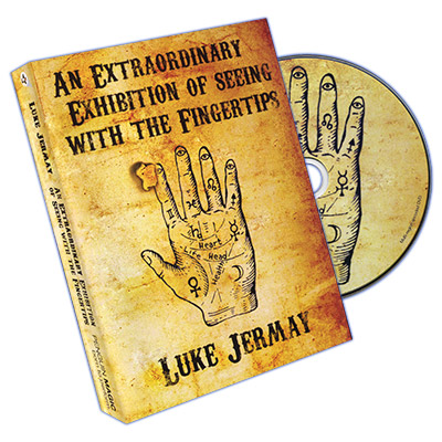 An Extraordinary Exhibition of Seeing with the Fingertips (DVD and Blue Deck) by Luke Jermay  - DVD