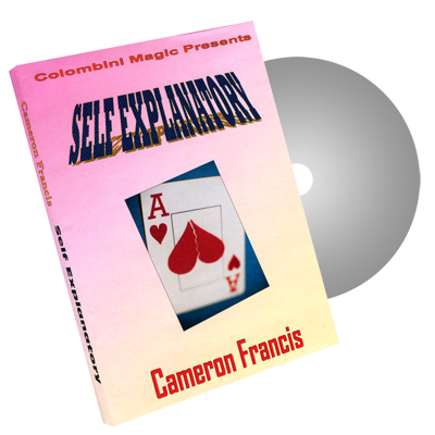 Self Explanatory by Wild-Colombini Magic - DVD
