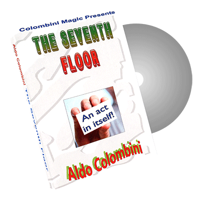 Seventh Floor Card Act by Wild-Colombini Magic - DVD
