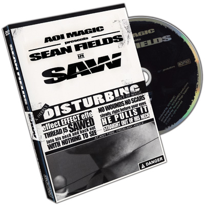 Saw by Sean Fields - DVD