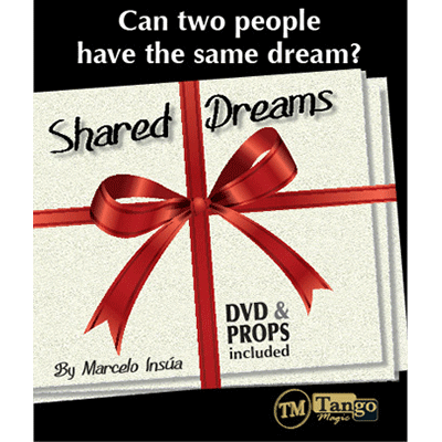 Shared Dreams (DVD and Props)V0009 by Marcelo Insua and Tango Magic