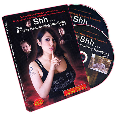 Shh... The Sneaky Handwriting Handbook Vol.1 (2 DVD Set)