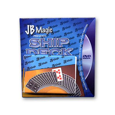 Ship Deck w/DVD by Mark Mason and JB Magic - Tricks