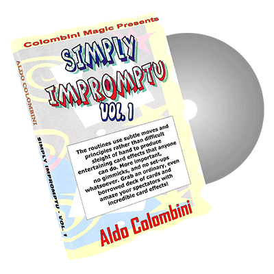 Simply Impromptu Vol.1 by Wild-Colombini Magic - DVD