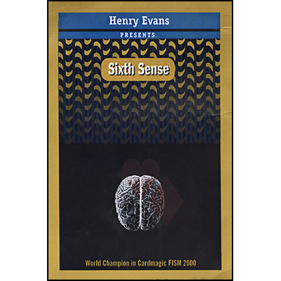Sixth Sense BLUE (DVD and Props) by Henry Evans