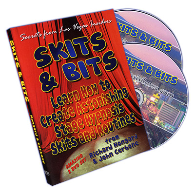 Skits and Bits: Create Astonishing Stage Hypnosis Skits and Routines by Richard Nongard - DVD
