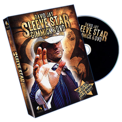 Sleeve Star (DVD & Gimmick) - Wizard FX Productions & David Jay