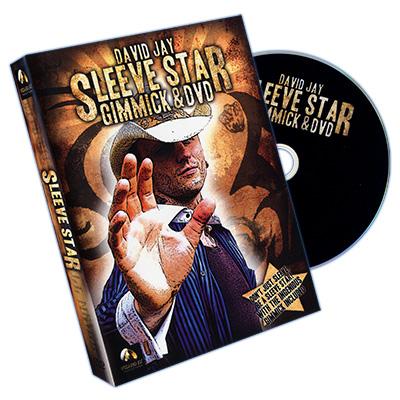 Sleeve Star (DVD & Gimmick) - Wizard FX Productions & David Jay