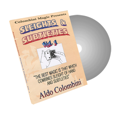 Sleights and Subtleties Vol.1 by Wild-Colombini - DVD