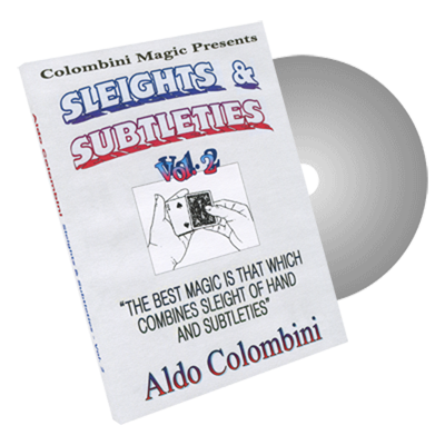 Sleights and Subtleties Vol.2 by Wild-Colombini - DVD