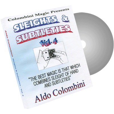 Sleights & Subtleties Vol.4 by Wild-Colombini Magic - DVD