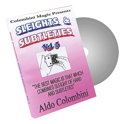 Sleights and Subtleties Vol.5 by Wild-Colombini - DVD